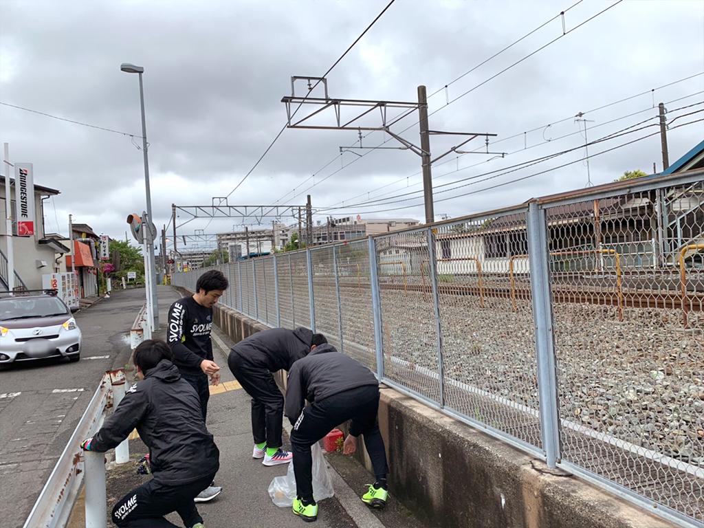 第4回清掃活動(北茅ヶ崎駅~グリーンハイツ周辺)3