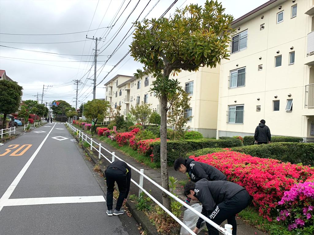 第4回清掃活動(北茅ヶ崎駅~グリーンハイツ周辺)
